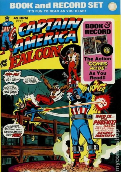 captain america record
